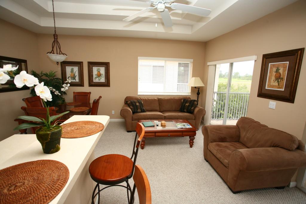 Castle Pines - Golf Villa Living Room