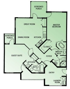 pine valley 2br floor plan